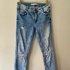Distress Zara Jeans